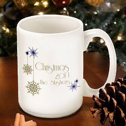 Personalized Evening Snowfall Mug