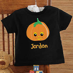 Pumpkin Pal Infant Black T-Shirt