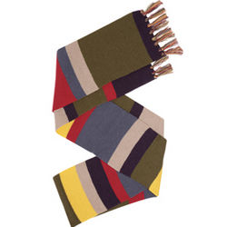 Fourth Doctor Who Deluxe Long Scarf