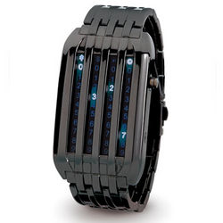 Verticular LED Watch