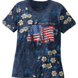 America the Beautiful U.S. Flag T-Shirt