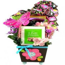 For a Pretty Woman Gift Basket