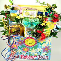 Feel Better Soon Get Well Basket
