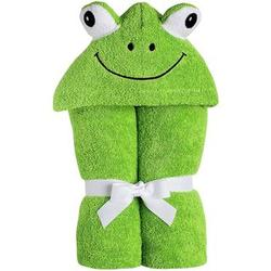 Baby's Cotton Frog Hooded Towel