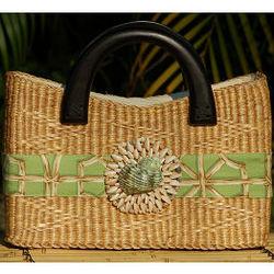 Beverly Basket Bag - Sanibel Shells