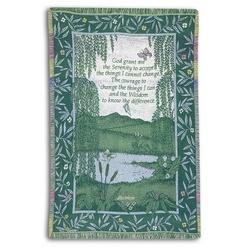 Serenity Prayer Blanket