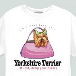 Yorkshire Terrier Proud Owner T-Shirt