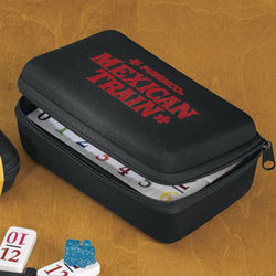 Mexican Train Dominoes Travel Set