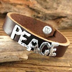 Big Peace Bracelet
