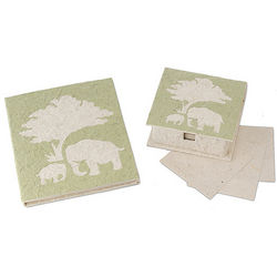 Elephant Poo Paper Journal or Note Box