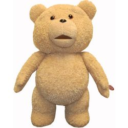 Ted Talking Plush Teddy Bear with Moving Mouth