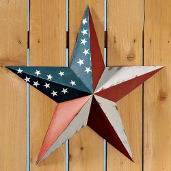 American Flag Barn Star