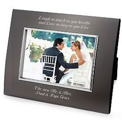 Classic Bevel Gunmetal Picture Frame