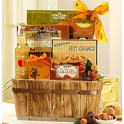Shades of Autumn Gift Basket