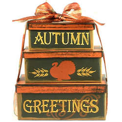 Autumn Delicious Greetings Gift Tower
