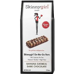 Skinnygirl On the Go Dark Chocolate Banana Oatmeal Bars