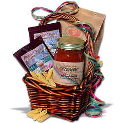 Italian Food and Cappuccino Gift Basket