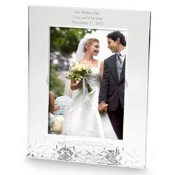 Personalized Lismore Essence Picture Frame
