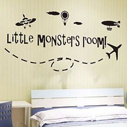 Little Monster's Room Wall Stickers