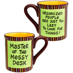 Master of the Messy Desk Mug