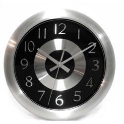Mercury Black Wall Clock