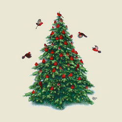 Christmas Cardinals Sweatshirt