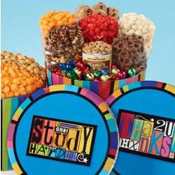 Magnet Snack Assortment Popcorn Tin
