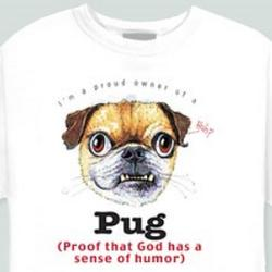 Pug Proud Owner T-Shirt