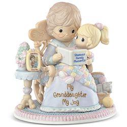 "Precious Moments ""My Granddaughter, My Joy"" Figurine"