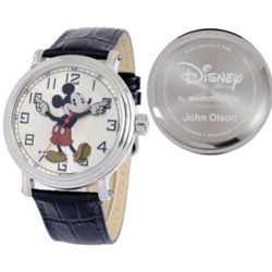 Men's Personalized Vintage Mickey Mouse Watch