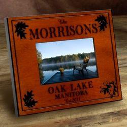 Personalized White Oak Frame