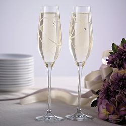 Royal Doulton Hearts Toasting Flutes