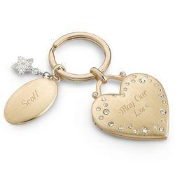 Make-A-Wish Sparkle Key Chain