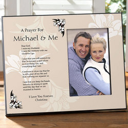 A Prayer for You & Me Memorial Photo Frame