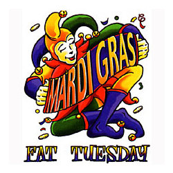 Mardi Gras-Fat Tuesday T-Shirt