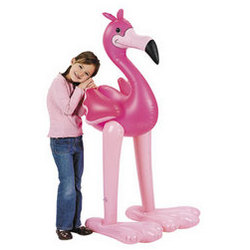 Jumbo Inflatable Flamingo
