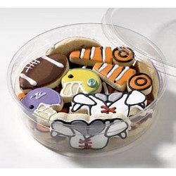 Football Mini Cookies