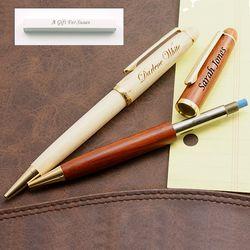 Executive Wood Mechanical Pencil
