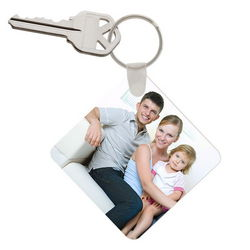 Father's Day Personalized Photo Keychain