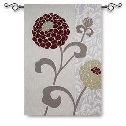 Chrysanthemums III Tapestry