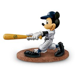 Mickey Mouse Home Run Hero Figurine