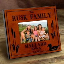 Personalized Wood Duck Frame
