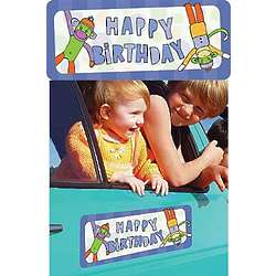 Happy Birthday Car Magnet