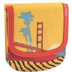 Leather California Taxi Wallet