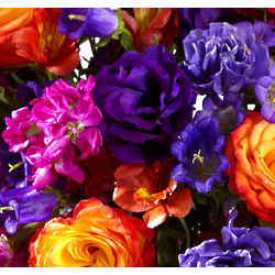Birthday Grower's Choice Flowers in a Vase Plus Chocolates