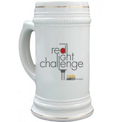 Cash Cab Red Light Challenge Stein