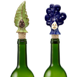Earth or Water Wine Bottle Stopper