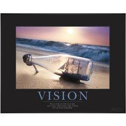 Vision Ship Motivational Poster