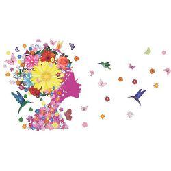 I Blow Butterflies Wall Stickers