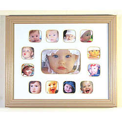 "Baby's First-Year Photo Frame 8""x10"""